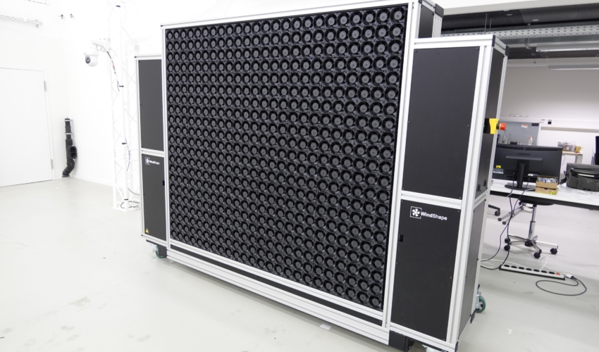 windshaper 8x7 modules (2m x 1.75m) with 504 wind pixels - front view